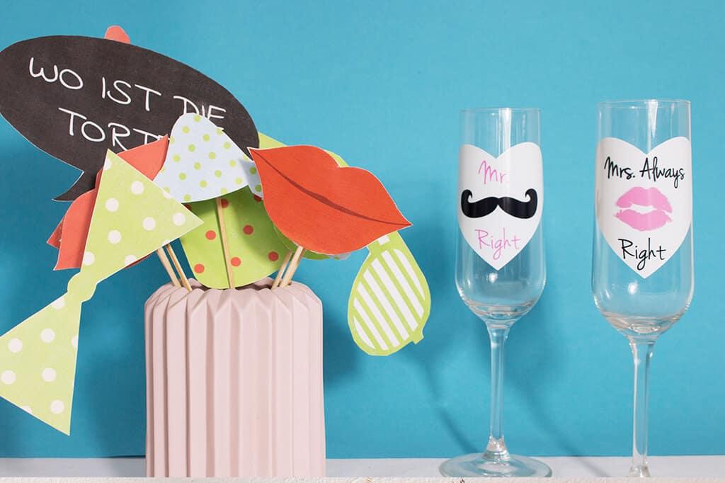 Photobooth-Accessoires für deine nächste Party