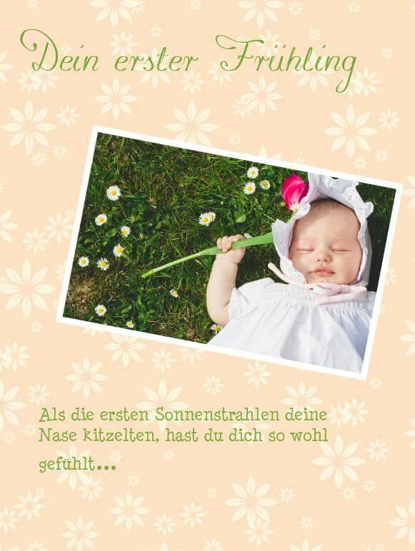 Babyfotobuch gestalten