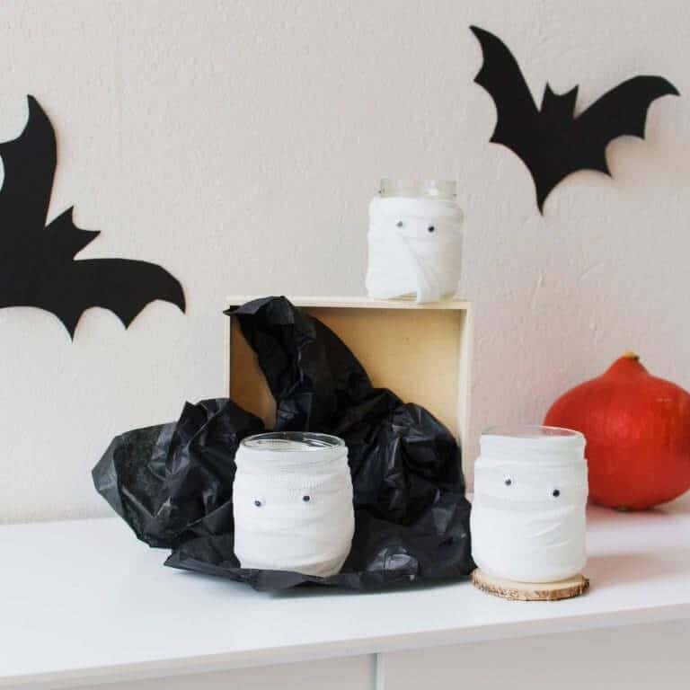 last minute deko idee f r halloween. Black Bedroom Furniture Sets. Home Design Ideas