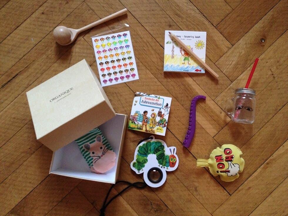 Geschenke zur Geburt unverpackt