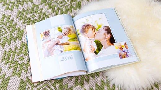 Fotojahrbuch schnell