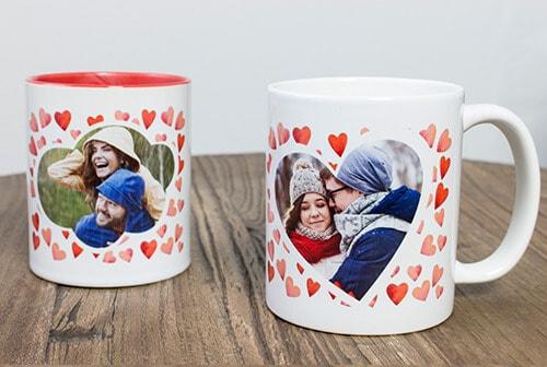 Geschenkideen zum Valentinstag: Tassen Herzwolke