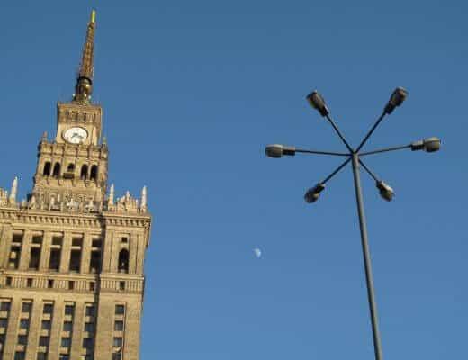 Städtetrip nach Warschau